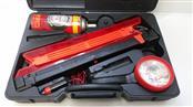 All Trade Portable Auto Emergency Kit (12V Flashlight, Fix-A-Flat, Triangle)